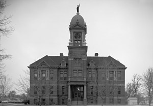 Pipestone County Courthouse - Image: Pipestone CC