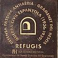 Placa Refugi Antiaeri Plaça de la Vila Santa Coloma de Gramenet.jpg
