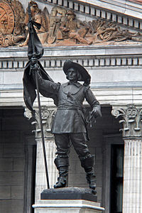 Maisonneuve Statue in Montréal