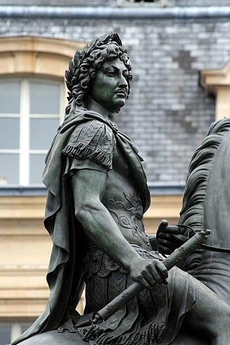 Place des Victoires - Bosio's Louis XIV
