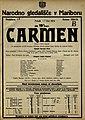 Plakat za predstavo Carmen v Narodnem gledališču v Mariboru 17. oktobra 1924.jpg