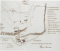 Plan of Quebec City by Jean Bourdon, 1640.png