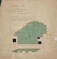 Plan von den der lutherischen Kirche zu Gnesen gehoerenden Grundstuecken 1826.jpg