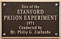 Plaque Dedicated to the Location of the Stanford Prison Experiment.jpg