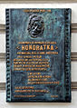 Plaque cafe 'Honoratka', Łódź 2 Moniuszki Street.jpg