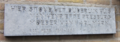 Plaque marking site of house of Henriette Pressburg, mother of Karl Marx, Nijmegen.png