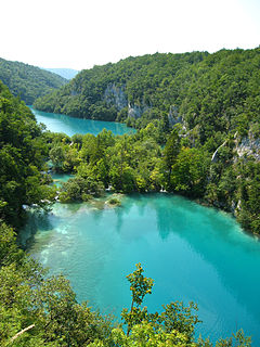 Image illustrative de l'article Parc national des lacs de Plitvice