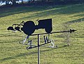 Ploughman's weather vane - geograph.org.uk - 591823.jpg