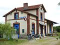 Plougonven 2 Gare de Coatelan -Plougonven-Plourin-, désormais Café de la gare.JPG