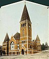 Plymouth Congregational Church, east side of 3rd Ave between Union St and University St, Seattle, Washington, ca 1891 (BOYD+BRAAS 11).jpg