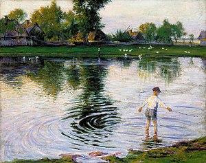 Władysław Podkowiński - Image: Podkowiński Mokra Wieś 1892