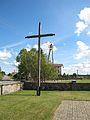 Podlaskie - Wyszki - Topczewo - Kościół św. Stanisława 20110903 - Krzyż 03.JPG