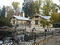 Podzamecka zahrada Kromeriz - Pavi druv, Zoo Koutek zepredu.JPG