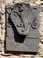 Pomarance, torre dell'orologio e palazzo pretorio, stemma 04 del benino.JPG