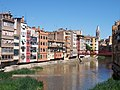 Pont Eiffel and river Onyar in Girona, Catalonia, Spain.JPG
