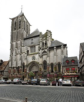 image illustrative de l'article Église Saint-Ouen de Pont-Audemer
