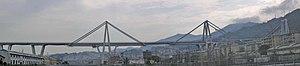 Polcevera - Image: Ponte Morandi