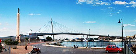 "Ponte del Mare, ""Bridge of the sea"" Ponte del Mare di Pescara 2011.jpg"