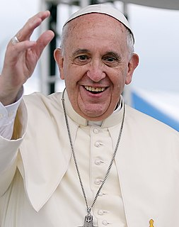 Pope Francis 266th and current Pope