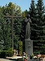 Pope John Paul II monument,Mistrzejowice,Nowa Huta,Krakow,Poland.JPG