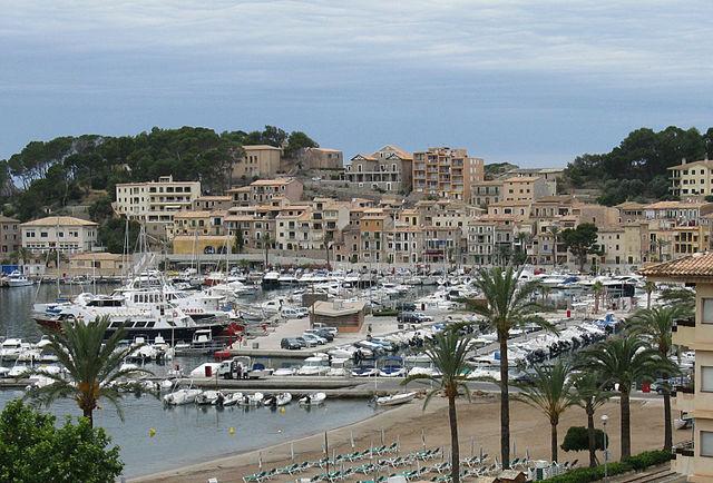 Porto Soller Mallorca Landkarte Hotels