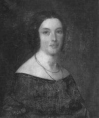 Porträtt av fru Corinna Holmström, född Bruhn