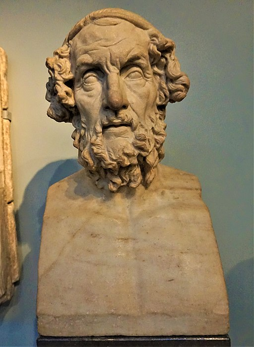Portrait Bust of Homer