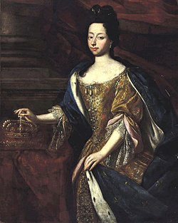 Portrait of Anne Marie d'Orléans – French School, 17th Century.jpg