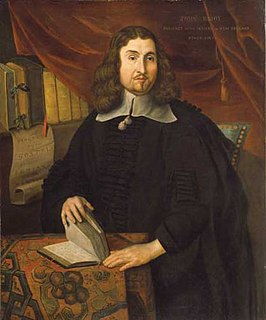 John Eliot (missionary) Puritan missionary to the American Indians