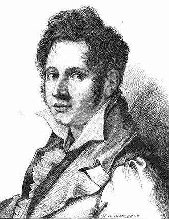 Piano Concerto (Busoni) - Adam Oehlenschläger as a young man