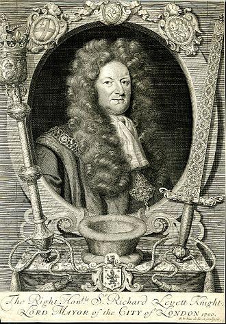 Richard Levett - The Right Hon.ble Sir Richard Levett, Knight, Lord Mayor of the City of London, Richard White, 1700