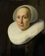 Portrait of Margriet Benningh (1565-1641)