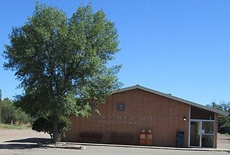 Patagonia, Arizona - The post office in Patagonia