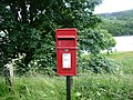 Post box on Snake Pass (A57).JPG
