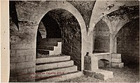 Postcard Het Atrium van de Capella græca in de Katakombe van Priscilla recto.jpg