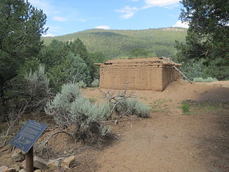Carson National Forest - Image: Pot Creek Pueblo 7