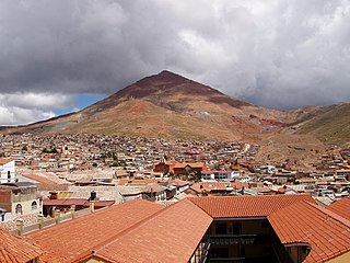 mountain in Bolivia