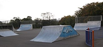 Potternewton - Skate park in Potternewton Park