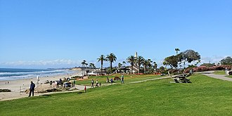 Del Mar, California - Powerhouse Park, Del Mar