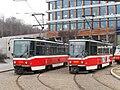 Praha, Radlice, smyčka Radlická, Tatra T6A5 č. 8714 a 8636.jpg
