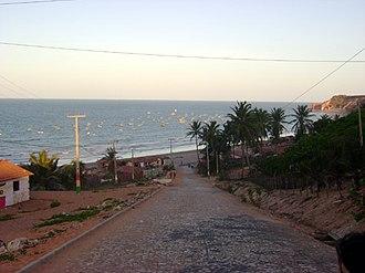 Icapuí - A beach in Icapuí.