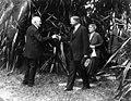 President Herbert Hoover greeting Thomas Edison - Fort Myers, Florida.jpg