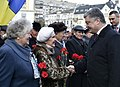 President Poroshenko honored the deceased on occasion of the 76rd anniversary of the liberation of Ukraine from the Nazis.jpg