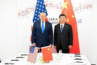 China–United States trade war 2018–2019 trade war between the United States and China