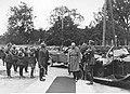 Prezydent RP Ignacy Mościcki witany przez wojsko w Brześciu nad Bugiem NAC 1-A-1582-2.jpg