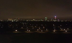 Primrose Hill - Primrose Hill at night