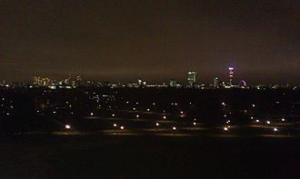 Primrose Hill - Primrose Hill at night
