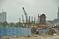 Proposed Barun Sengupta Metro Station Under Construction - Eastern Metropolitan Bypass - Kolkata 2016-06-23 5026.JPG