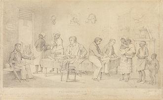 Slavery Abolition Act 1833 - Protector of Slaves Office (Trinidad), Richard Bridgens, 1838.