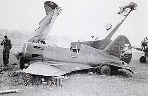 Pružanski aeradrom I-16 №3 3.Jpg